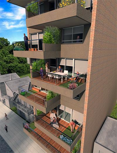 Empresas proyecto buildgreens for Viviendas para terrazas