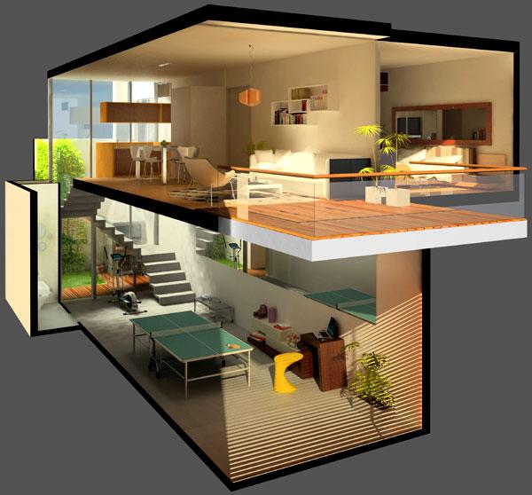 Noticias tetris nuevo proyecto for Casa feng shui ideal