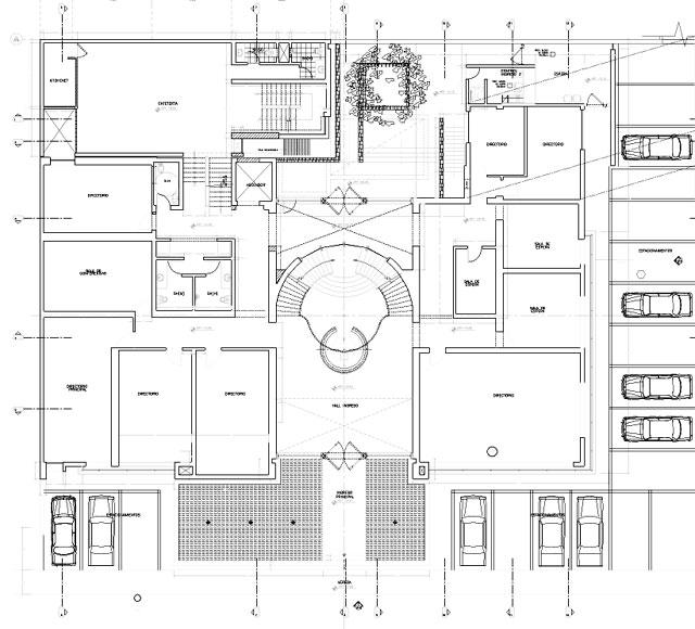 Proyecto estudio de abogados lima for Programa arquitectonico biblioteca