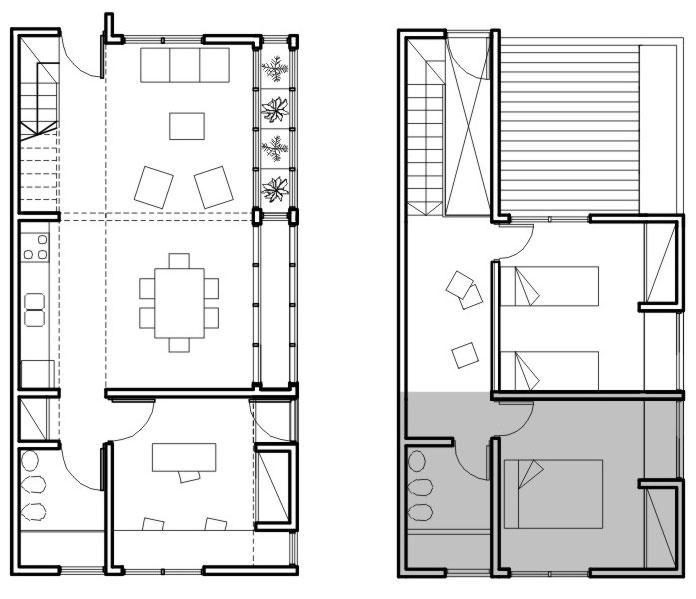 Arq vivienda modulada taringa for Planos arquitectonicos vivienda