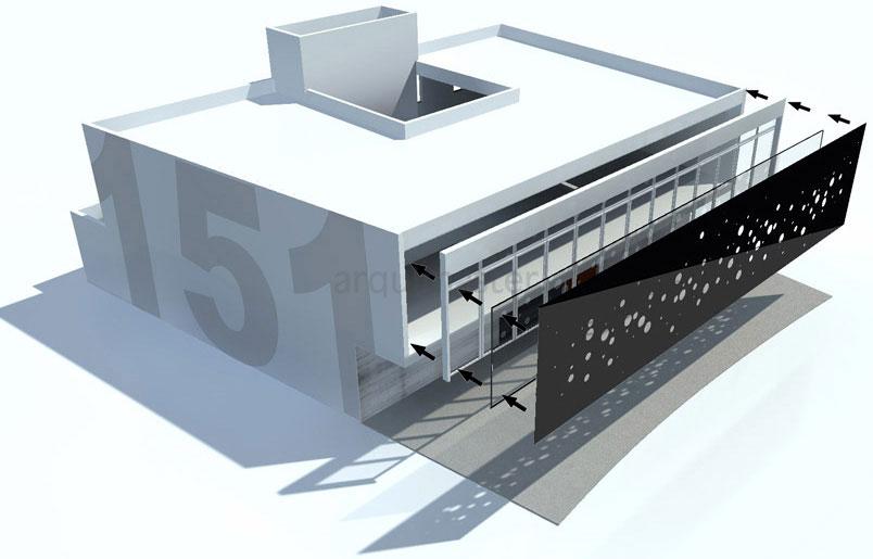 Proyecto estudios 151 sa quer taro for Estudio de arquitectura