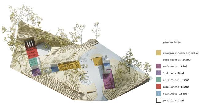 Proyecto proyecto para centro de for Programas para arquitectura para pc