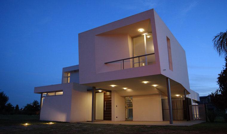 Proyecto casa h funes pcia santa for Casas de diseno santa fe