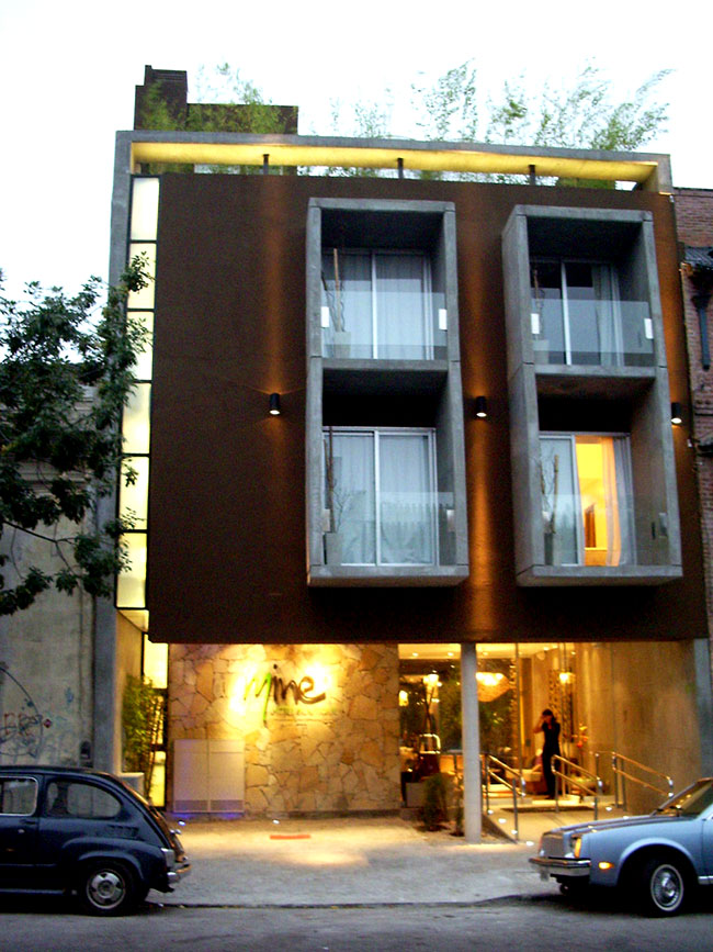 Proyecto mine hotel boutique buenos for Semana del diseno buenos aires